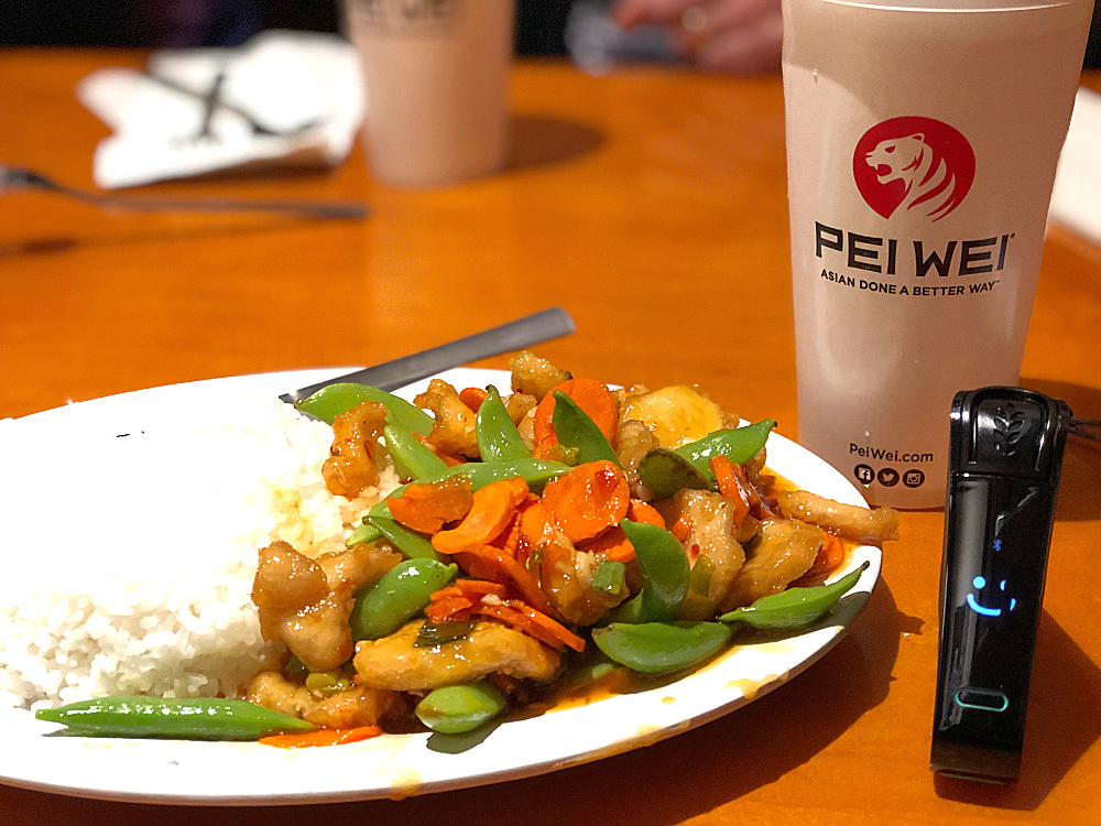 Pei Wei Original tested with the Nima Sensor - the Nima Sensor is smiling