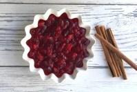 Thanksgiving cranberry sauce recipe header