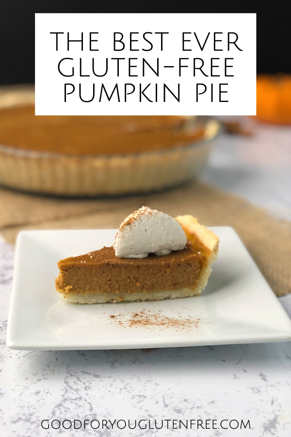 The best ever gluten-free pumpkin pie recipe