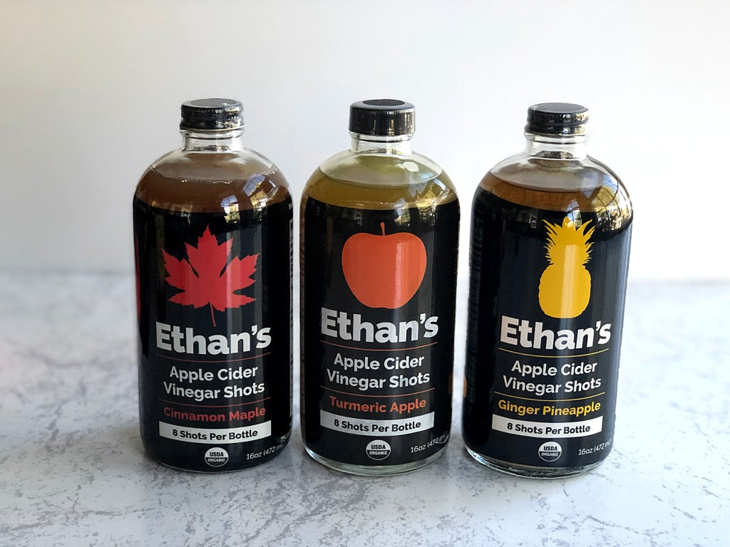 Ethan's Apple Cider Vinegar Shots 1