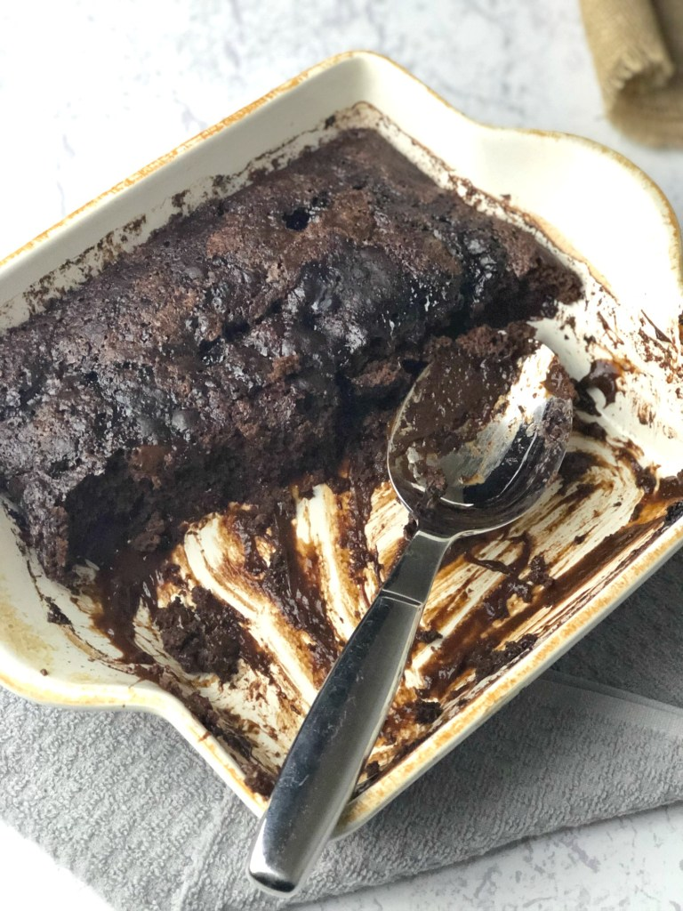 Gluten-Free Chocolate Pudding Cake 5