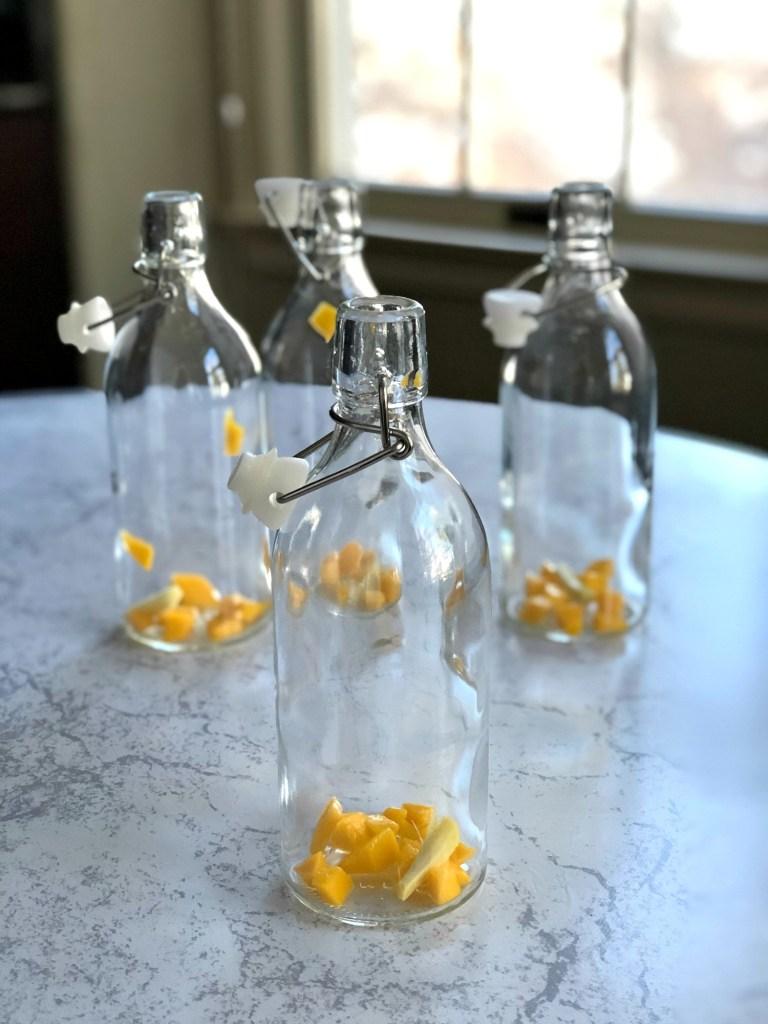 Kombucha bottling 1