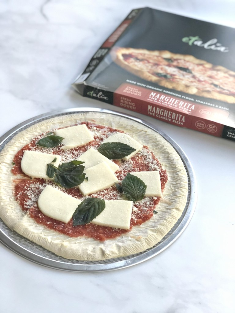 Etalia frozen pizza uncooked