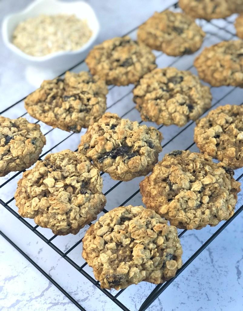 Gluten-Free Oatmeal Cookies 1
