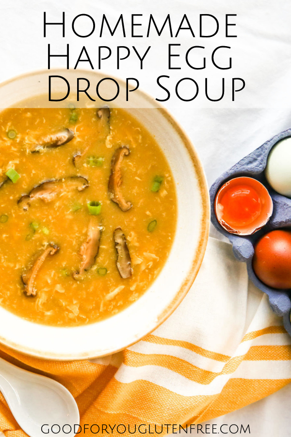 Homemade Happy Egg Drop Soup - Good For You Gluten Free
