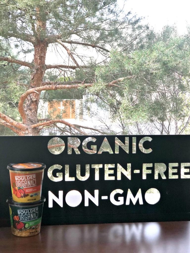 Organic Gluten Free Boulder Organic Sign