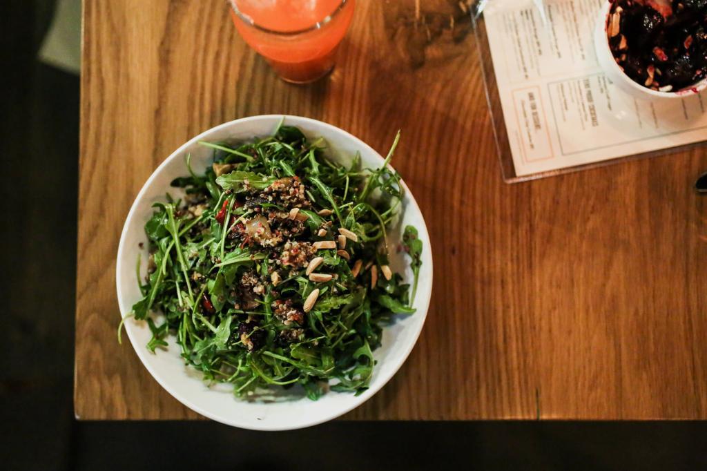 Salad at Next Door Eatery