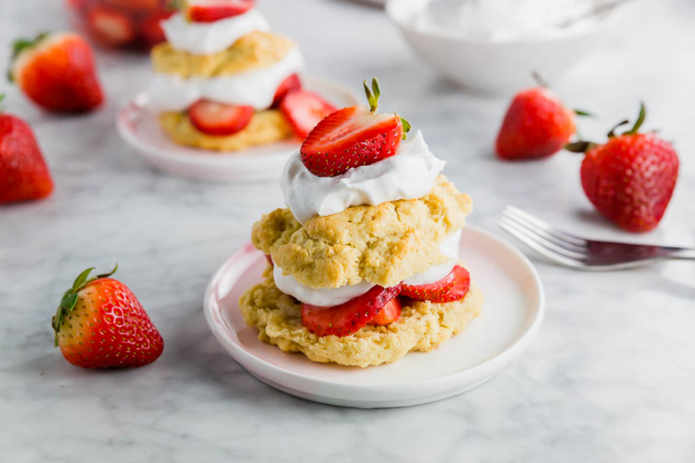 Gluten-Free Strawberry Shortcake header