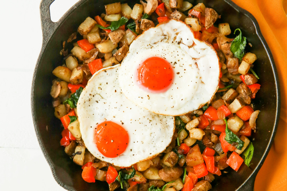 The Importance of Having a Morning Routine + a Gluten-Free Breakfast Skillet Recipe