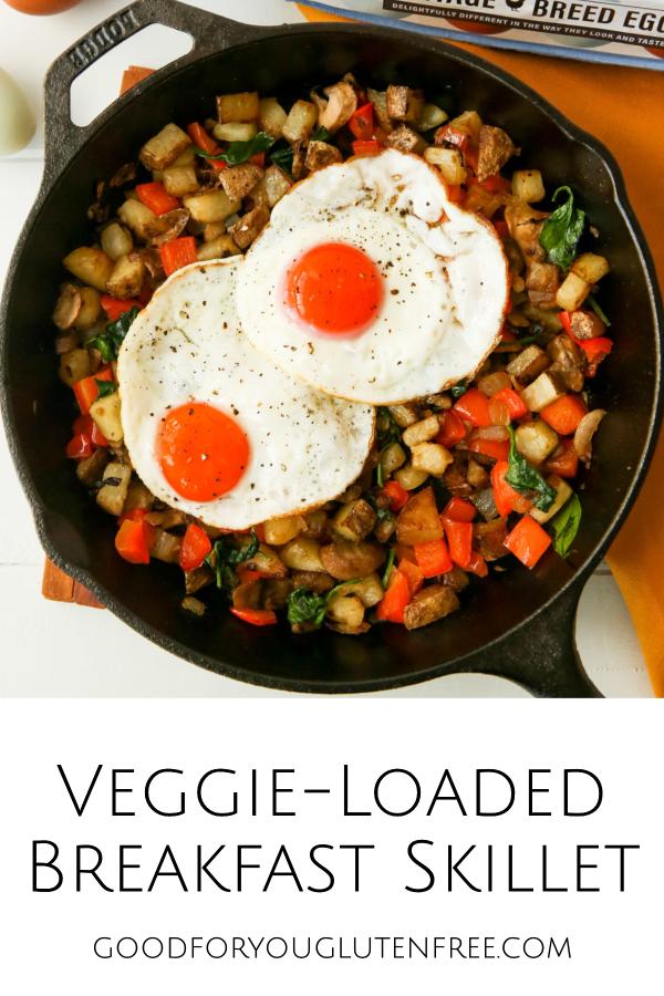 Veggie-loaded breakfast skillet recipe - Good For You Gluten Free