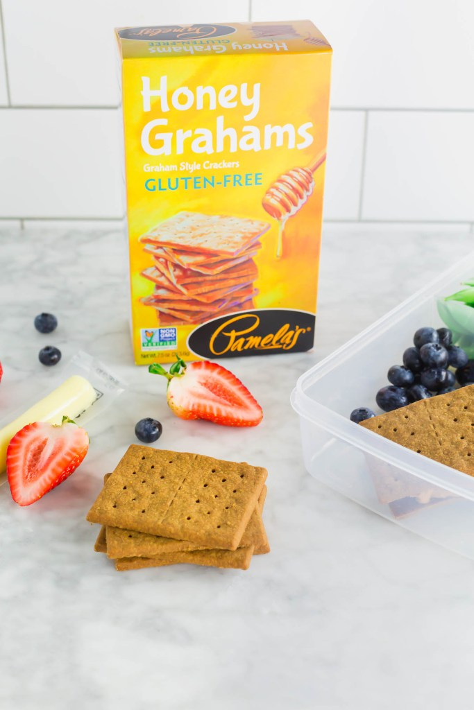 picture of Pamela's gluten-free honey graham crackers