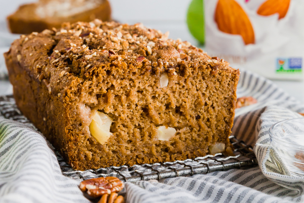 Gluten-Free Apple Cinnamon Bread header