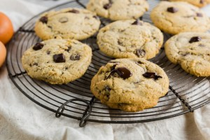 Gluten-Free Gooey Chocolate Chunk Cookies header