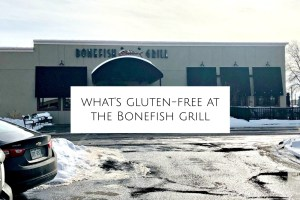 What's gluten-free at the bonefish grill header