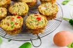 High Protein Vegetable Quinoa Egg Muffins - header