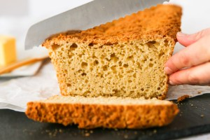 gluten-free sandwich bread with 1:1 gluten-free flour header