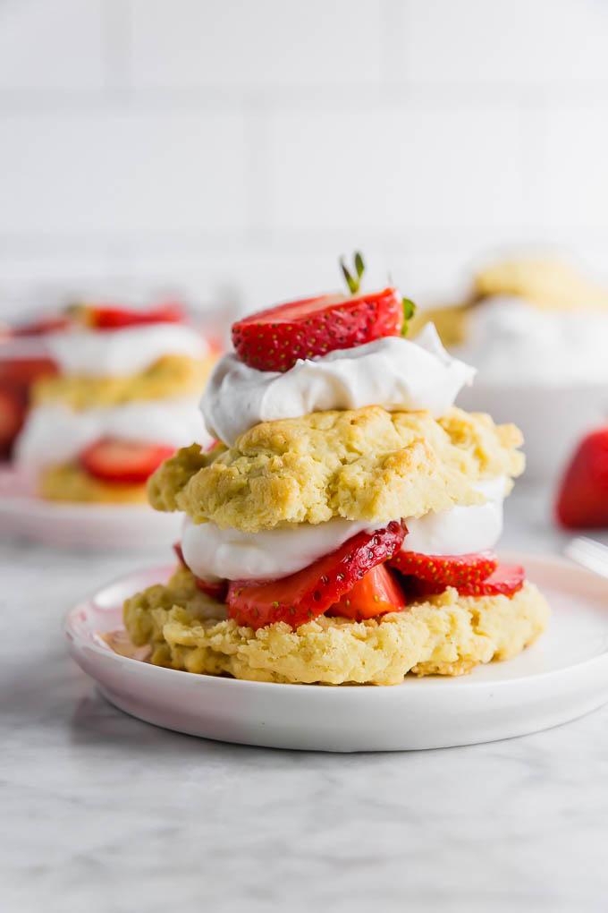 Gluten-free strawberry shortcake by Good For You Gluten Free
