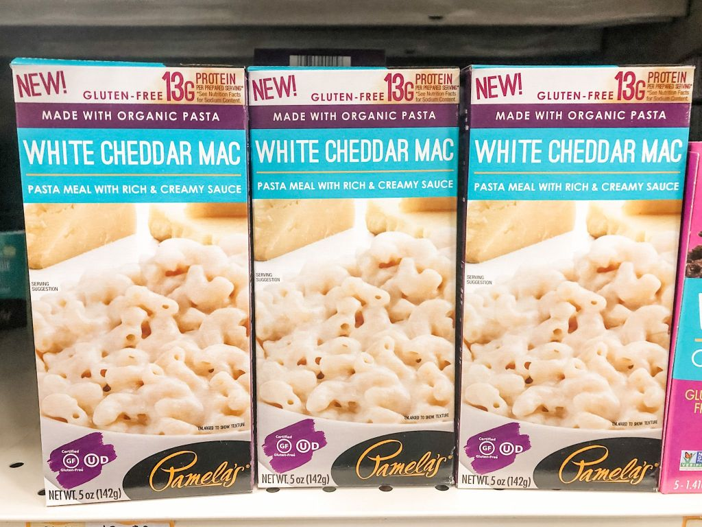 Picture of Pamela's white cheddar mac