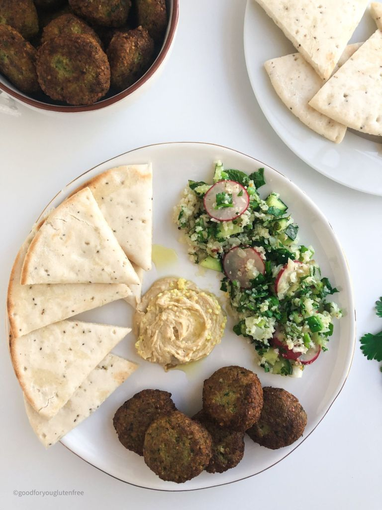 Picture of a meze plate filled