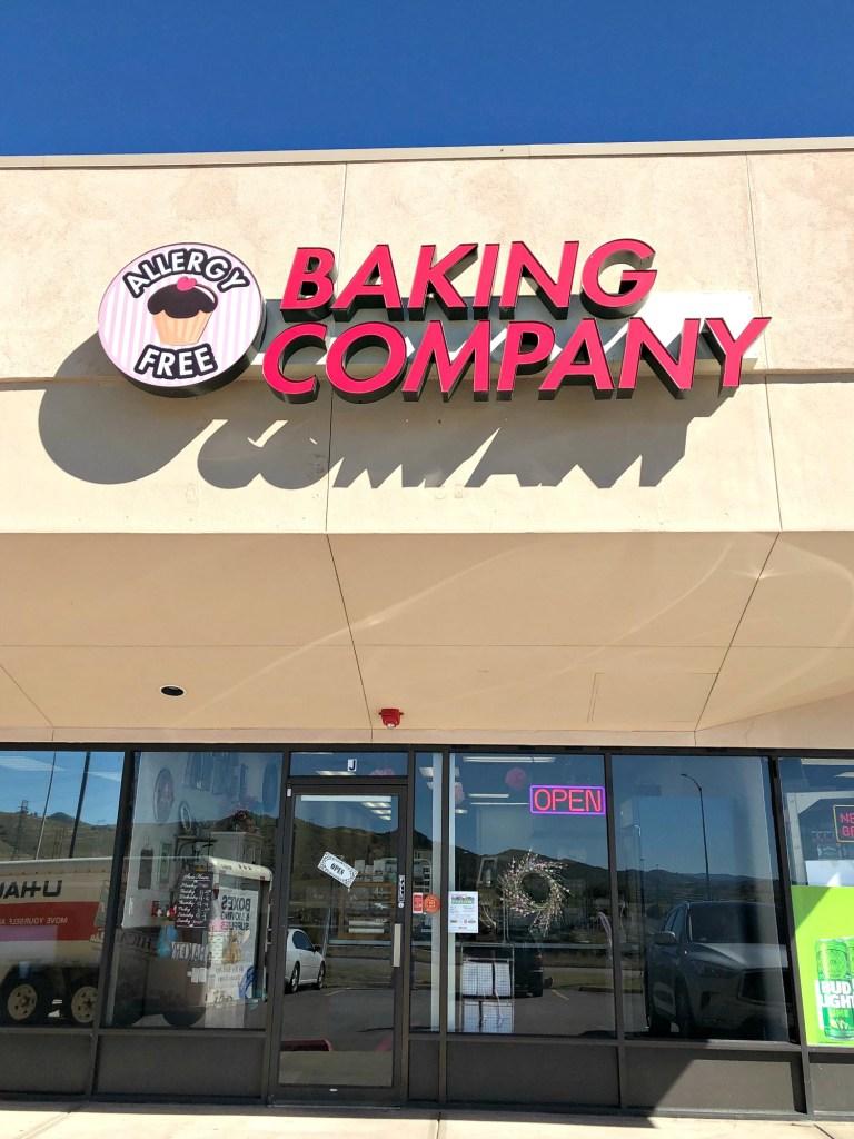 Allergy Free Baking Co outside facade