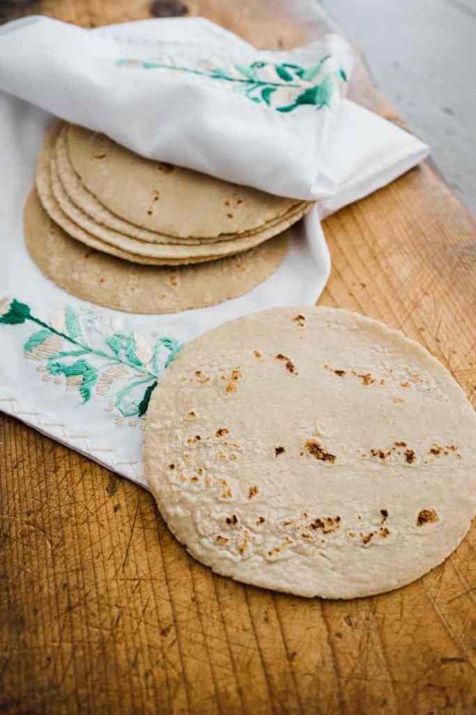 corn tortillas by muy bueno