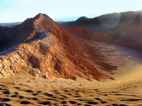landscape of hills and desert