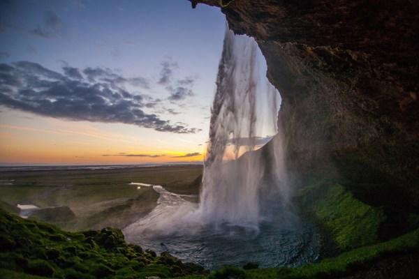 beautiful and scenic waterfall