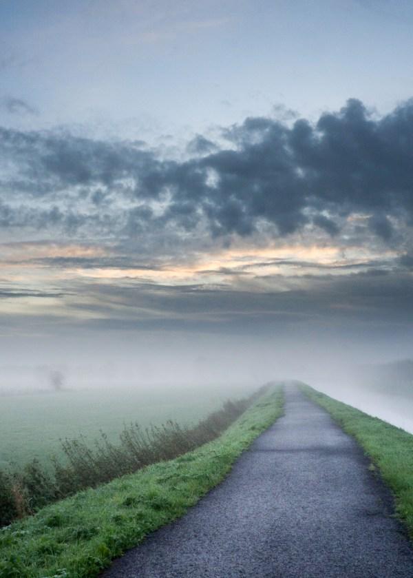 Foggy Path Landscape - Free Stock Public Domain Cc0
