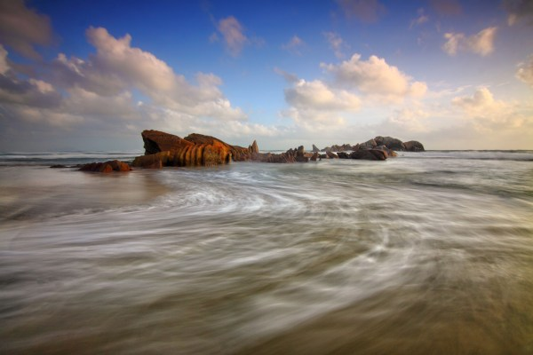 scenic view of seaside landscape