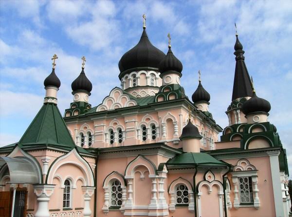 Pokrovsky Monastery Architecture In Kiev Ukraine - Free Stock Public Domain