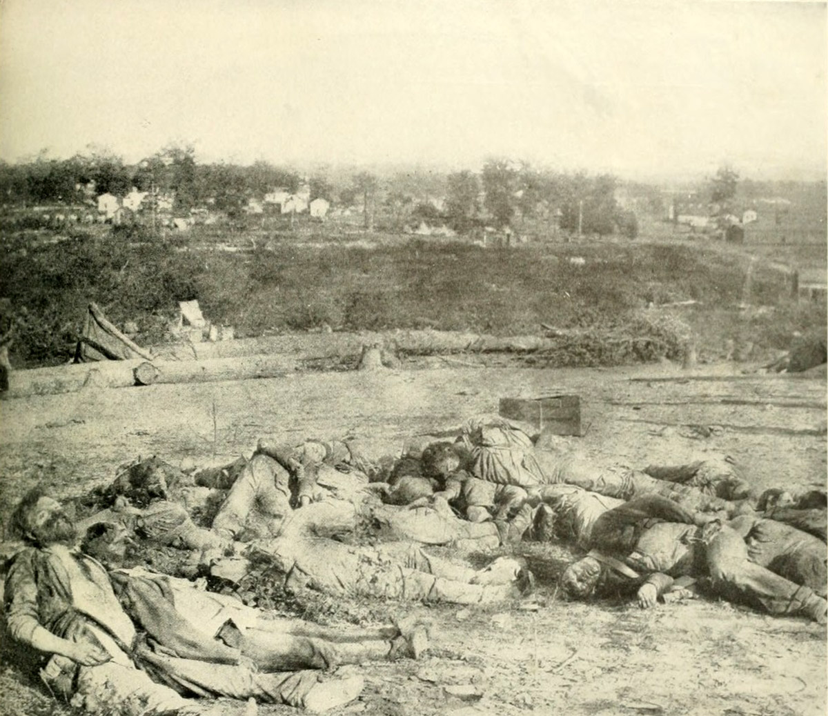 Casualties of the Battle of Corinth in Mississippi during