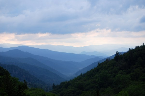 Mountains And Hills Landscape Great Smoky National Park Tennessee - Free