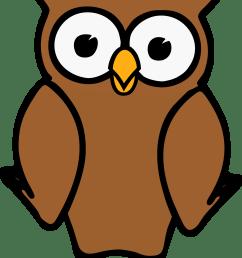 free photos vector images brown cartoon owl vector clipart  [ 1718 x 2400 Pixel ]