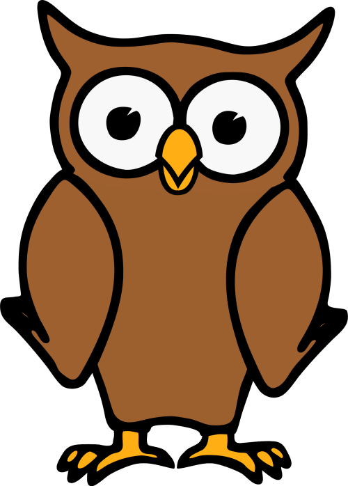 small resolution of free photos vector images brown cartoon owl vector clipart