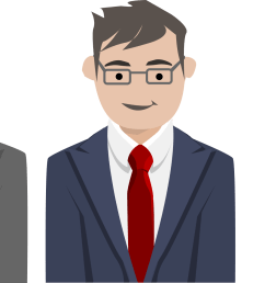 free photos vector images business people characters vector clipart  [ 2400 x 1125 Pixel ]
