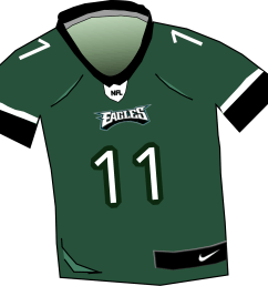 free photos vector images eagles nfl jersey vector clipart  [ 1789 x 1691 Pixel ]