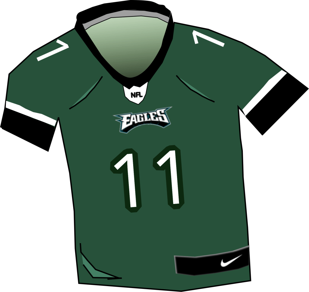 medium resolution of free photos vector images eagles nfl jersey vector clipart