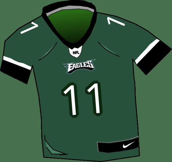Philadelphia Eagles Jersey Clip Art
