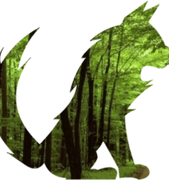 free photos vector images green forest fox vector clipart  [ 2070 x 1902 Pixel ]