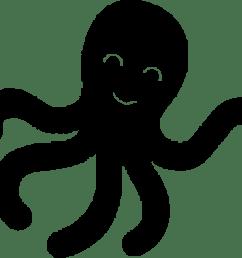 free photos vector images kid octopus vector clipart  [ 2199 x 1931 Pixel ]