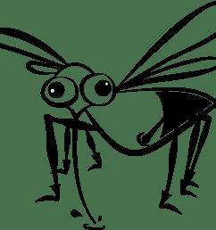 free photos vector images mosquito cartoon vector clipart  [ 2319 x 2067 Pixel ]