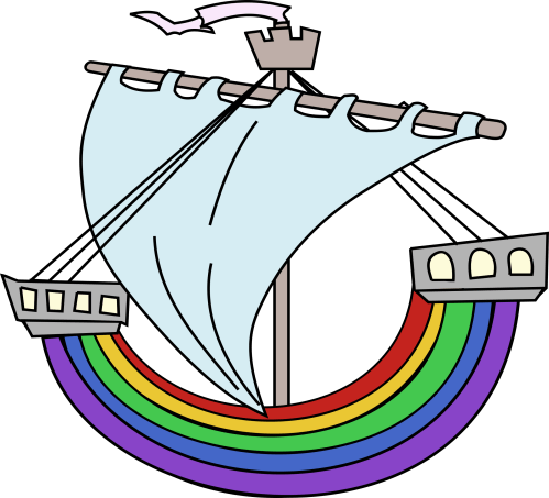 small resolution of free photos vector images rainbow boat vector clipart