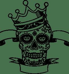 free photos vector images sugar skull king vector clipart  [ 2260 x 2070 Pixel ]