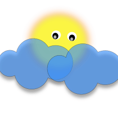 free photos vector images sun behind the cloud vector clipart  [ 2400 x 1936 Pixel ]