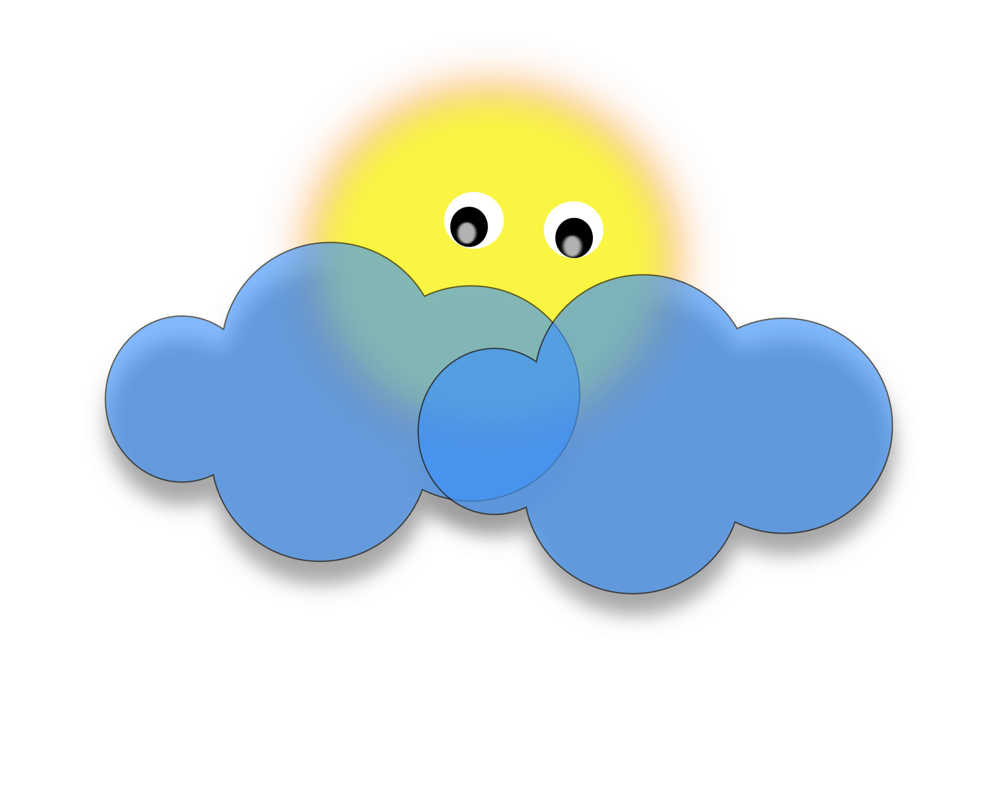 hight resolution of free photos vector images sun behind the cloud vector clipart
