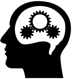 free photos vector images thinking brain machine vector clipart  [ 2400 x 2400 Pixel ]