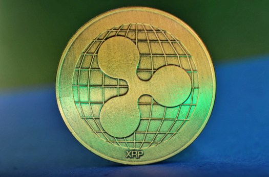 Golden Ripple XRP coin image - Free stock photo - Public ...