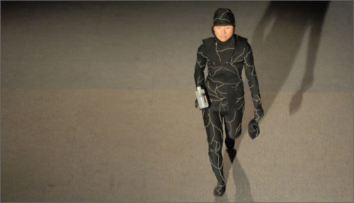 Infinity Burial Suit, Seamless Fashion Show, Museum of Science, Boston, MA