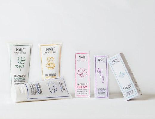 Natuurlijke babyverzorgingsproducten-NAIF babycare-GoodGirlsCompany-alternatieven voor Zwitsal-pure babyverzorging
