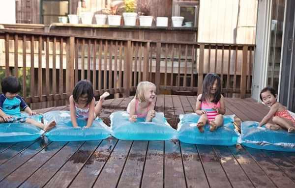 waterspelletjes voor kinderen